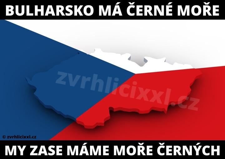 Bulharsko Má Černé Moře My Zase Máme Moře černých