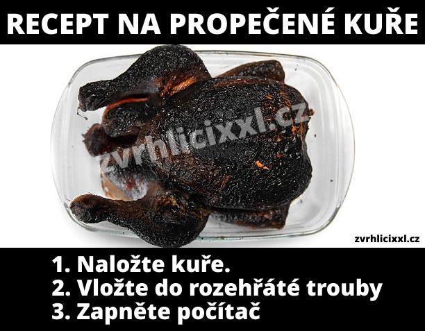Bezvadný recept na propečené kuře