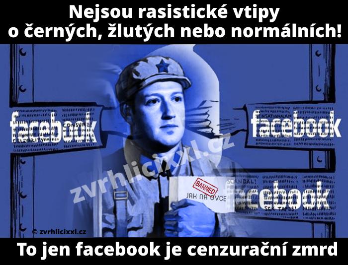 Nejsou Rasistické Vtipy O černých, žlutých Nebo Normálních.cenzura,faceboo,banned,ban,facebook,vtipy