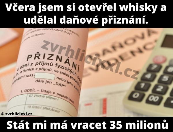 Formulář, Tiskopis, Přiznání, Daň, Daně, Kalkulačka, Daňová Evidence